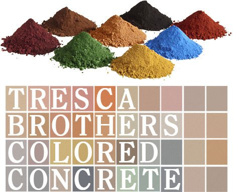 Tresca colored concrete near Boston, MA.