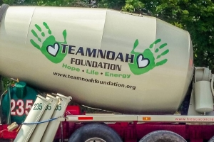 Team Noah Foundation Concrete Truck #2
