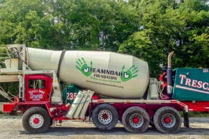 Team Noah Foundation Concrete Truck